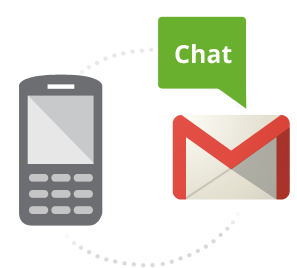 gmail-chat-over-sms